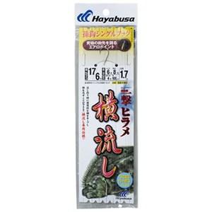 ハヤブサ(Hayabusa) 活き餌一撃ヒラメ 横流し用 シングル SD180 シングルフック(トラウト用)