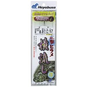 ハヤブサ(Hayabusa) 活き餌一撃ヒラメ 横流し用 トリプル SD181