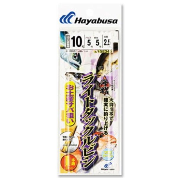 ハヤブサ(Hayabusa) 海戦ライトタックルビシ お土産サバ用1×2 SE345 仕掛け