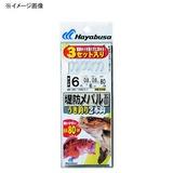 ハヤブサ(Hayabusa) 堤防メバルウキ釣り 2本3セット HE200 仕掛け