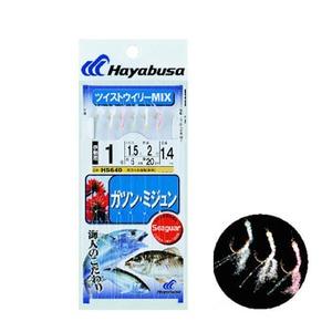ハヤブサ(Hayabusa) 沖縄サビキ ガツン・ミジュン ツイストウイリーMIX HS640 仕掛け