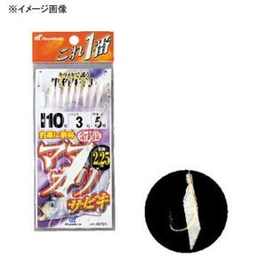 ハヤブサ(Hayabusa) これ一番 ママカリサビキ 金袖 8本針 HS731 仕掛け
