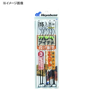 ハヤブサ(Hayabusa) 投げ胴突 カレイ・アイナメ 鈎16/ハリス6 上黒 NB601