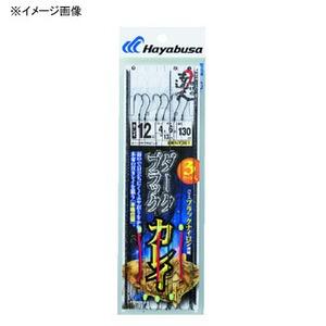 ハヤブサ(Hayabusa) 投げの達人 ダークブラックカレイ 鈎10/ハリス3 上黒 NT361