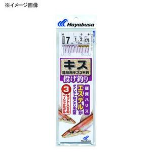 ハヤブサ(Hayabusa) 投げキス天秤式 競技用キス3本鈎 NT660 仕掛け