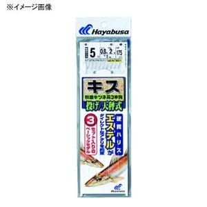 ハヤブサ(Hayabusa) 投げキス天秤式 秋田キツネ茶3本鈎 NT661 仕掛け