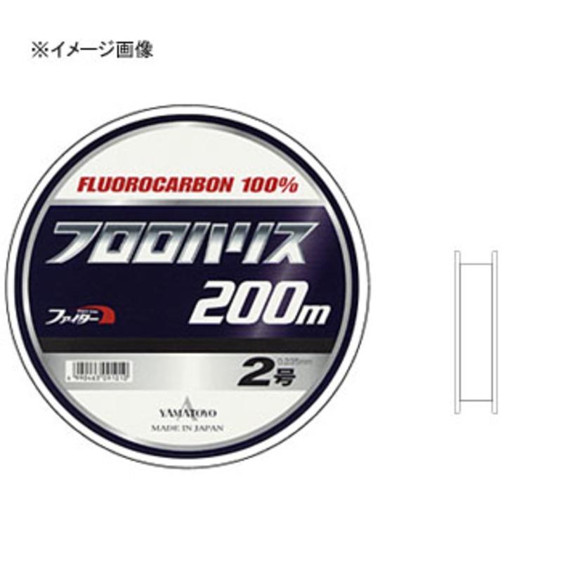 ヤマトヨテグス(YAMATOYO) フロロハリス 200m 4号 透明