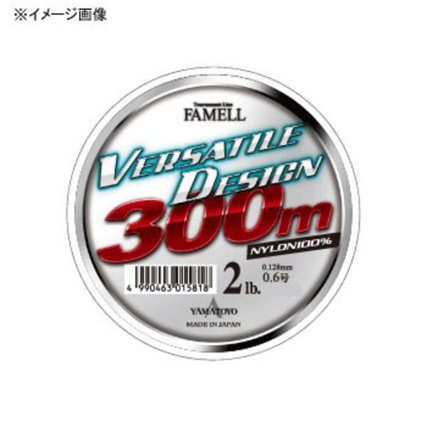 ヤマトヨテグス(YAMATOYO) バーサタイルデザイン 300m ブラックバス用ナイロンライン