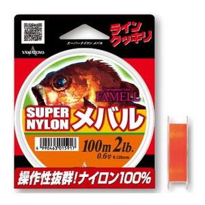 ヤマトヨテグス(YAMATOYO) スーパーナイロンメバル 100m