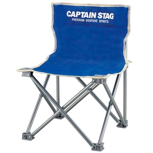 キャプテンスタッグ(CAPTAIN STAG) パレット コンパクトチェアミニ チェアー/椅子/キャンプ/レジャー用 マリンブルー M-3916