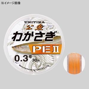 ユニチカ(UNITIKA) わかさぎPE II 30M 0.2号 ライトオレンジ
