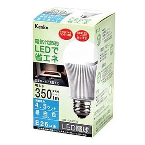Kenko(ケンコー) LED電球 昼白色 4.5W KDL3CC26