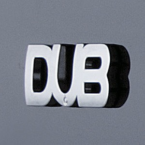 DUB(ダブ) エンブレム(1枚セット) S