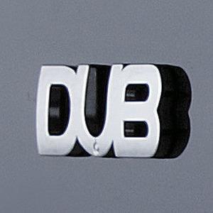 DUB(ダブ) エンブレム(1枚セット) L