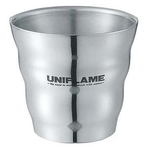 ユニフレーム(UNIFLAME) ウェーブダブルマグSUS 666135 ゆのみ&タンブラー