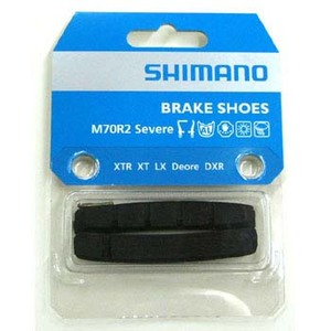 シマノ(SHIMANO/サイクル) Y8AA98200 M70R2(シビアコンディション用)ブレーキシュー&抜き止めピン