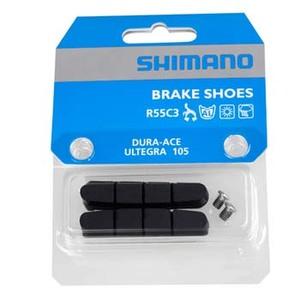 シマノ(SHIMANO/サイクル) R55C3(BR-7900)ブレーキシュー&固定ネジ(ペア) Y8FN98090