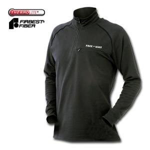 フリーノット(FREE KNOT) ハヤブサ フリーノット レイヤーテックEXPジップアップシャツ