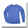 フリーノット(FREE KNOT) レイヤーテックEXPアンダーシャツ厚手レディース M ペールブルー