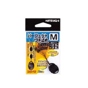 カツイチ(KATSUICHI) パーフェクトウキ止め M 黒 513194