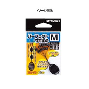 カツイチ(KATSUICHI) パーフェクトウキ止め L 黒 513200
