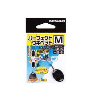 カツイチ(KATSUICHI) パーフェクトウキペット M 黒 513378