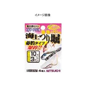 カツイチ(KATSUICHI) 海上つり堀 必釣タイプ 鈎14/ハリス10 ゴールド 513804