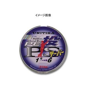 【送料無料】ユニチカ(UNITIKA) キャスラインPE投PSテーパー付 6-0.8号