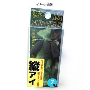 DAMIKI JAPAN(ダミキジャパン) スリンヘッド(縦アイ) 3.5g マットブラック