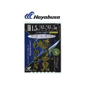 ハヤブサ(Hayabusa) 瞬間わかさぎ 細地袖型 5本鈎 1.5-0.2 C215