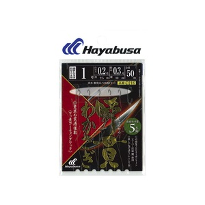 ハヤブサ(Hayabusa) 瞬貫わかさぎ 秋田キツネ型 5本鈎 0.8-0.2 C216