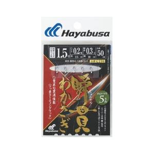 ハヤブサ(Hayabusa) 瞬貫わかさぎ 秋田キツネ型 5本鈎 1-0.2 C216