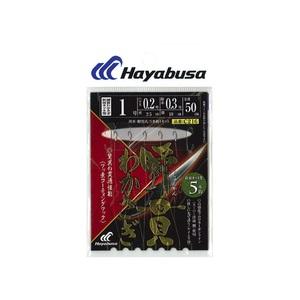 ハヤブサ(Hayabusa) 瞬貫わかさぎ 秋田キツネ型 5本鈎 1.5-0.2 C216