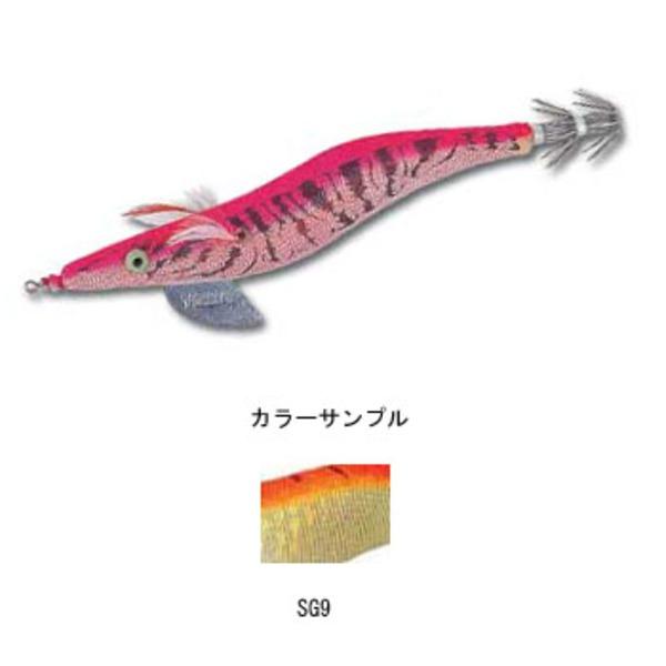 ヨーヅリ(YO-ZURI) アオリーQ大分布巻 A1246-SG9 エギ2.0号以下