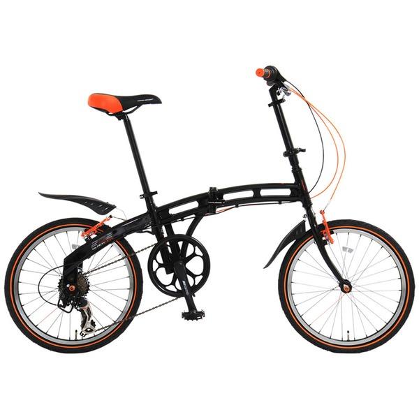 ドッペルギャンガー(DOPPELGANGER) 202 blackmax(ブラックマックス) 【20インチ 折りたたみ自転車】 202 20インチ変速付き折りたたみ自転車