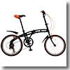 ドッペルギャンガー(DOPPELGANGER) 202 blackmax(ブラックマックス) 【20インチ 折りたたみ自転車】