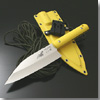 G・サカイ SABI KNIFE-4 シャチ出刃 イエロー