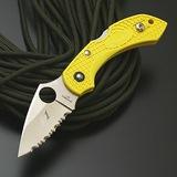 スパイダルコ ドラゴンフライ2 ソルト (波刃) フォールディングナイフ