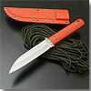 SABI KNIFE-7 逆叉 オレンジ柄