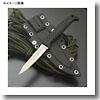 サビナイフ「CHINU」チヌ ブラック (直刃)