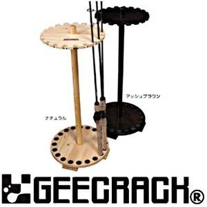 GEECRACK(ジークラック) ジークラック ラウンド回転式20本用 アッシュブラウン
