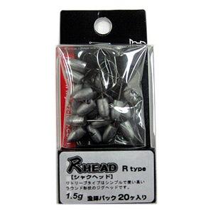 Jazz(ジャズ) 尺HEAD(シャクヘッド) R type 20ヶ入り 漁師パック 1.5g