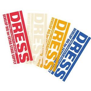 ドレス(DRESS) ロゴステッカー LD-OP-0001