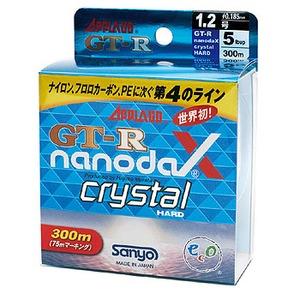 サンヨーナイロン GT-R ナノダックス クリスタルハード 300M ブラックバス用ナイロンライン