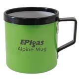 EPI(イーピーアイ) アルパインマグカップM グリーン C-5123 アルミ製マグカップ