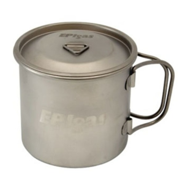 EPI(イーピーアイ) シングルチタンマグカバー T-8113 チタン製マグカップ