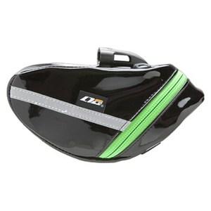 LOTUS TECHNOLOGY GEAR(ロータステクノロジーギア) GINAサドルバッグ S ブラックxグリーン Y-9326