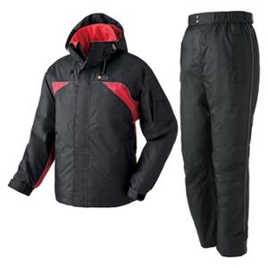 ロゴス(LOGOS) 遠赤防水防寒軽量スーツ イブキ LL 71(ブラック)