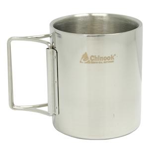 【送料無料】Chinook(チヌーク) ティンバーラインマグwithフォールディングハンドル 300ml 42125