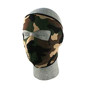 ZAN(ザン) ネオプレン フェイスマスク (フルタイプ) ウッドランド カモフラージュ WNFM118
